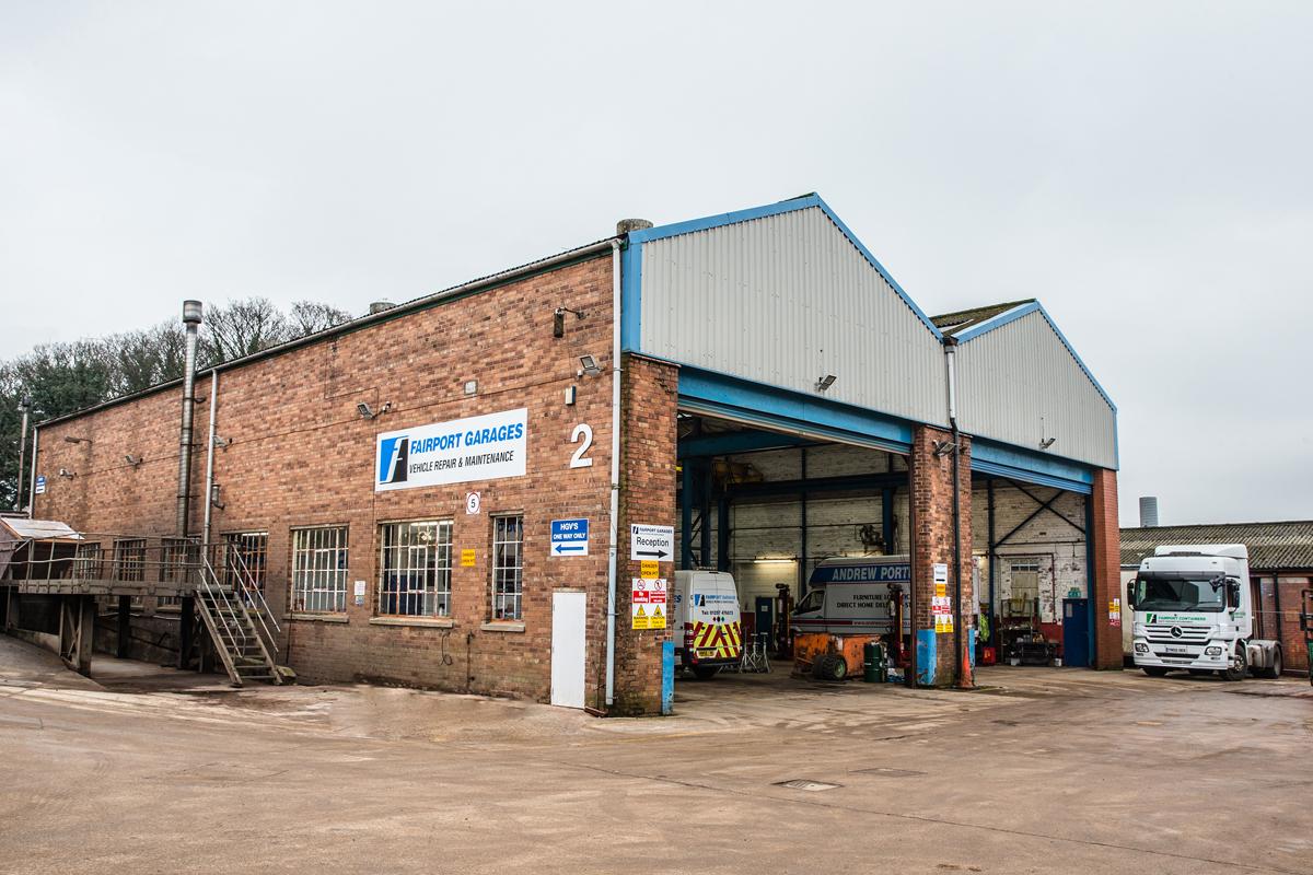 Fairport Garages