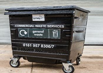 Fully Refurbished Second Hand Trade Waste Wheelie Bins